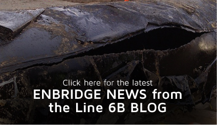 Enbridge Oil Pipeline Michigan